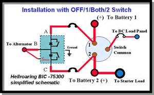 perko battery switch wiring diagram for boat get free