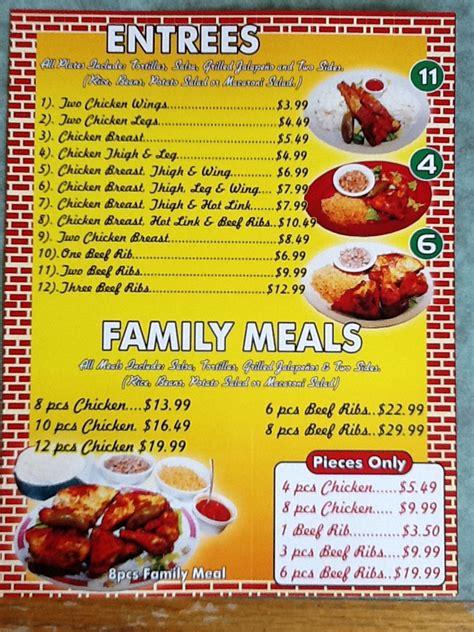 el pollo feliz menu