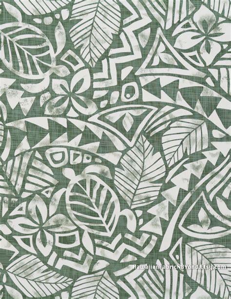 tribal pattern hawaiian polynesian fabric tribal tapa patterns tropical flowers