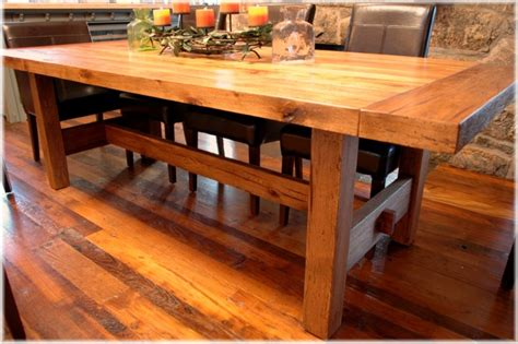 woodwork craftsman dining table plans  plans