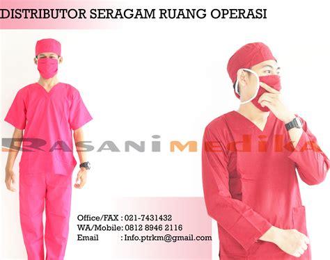 Jas Dokter Dua Saudara Laki Laki Lengan Panjang toko seragam ruang operasi oka rasani medika