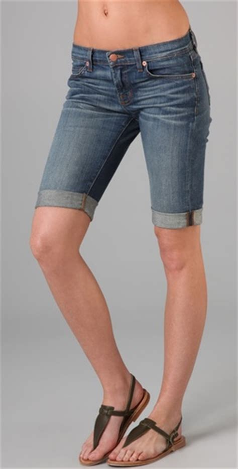 jean shorts for women over fifty flattering50 fashion over 50 denim shorts
