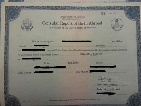 Consular Record Of Birth Abroad About Ted S Birth Certificate The Tundra Tabloids
