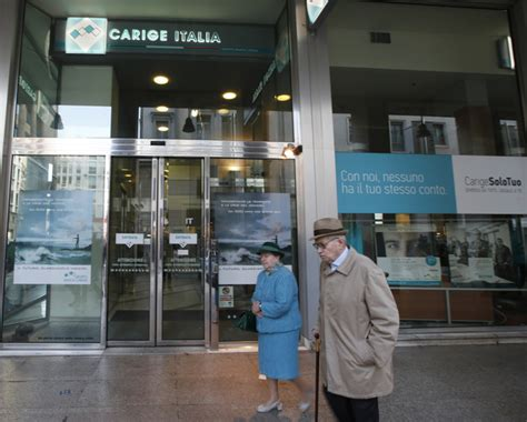 banca carige italia on line business test hits italian banks but also some german ones daily