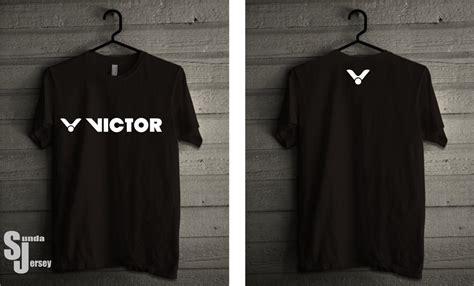Tshirt Baju Kaos Sunda Kasar jual tshirt badminton victor depan belakang kaos