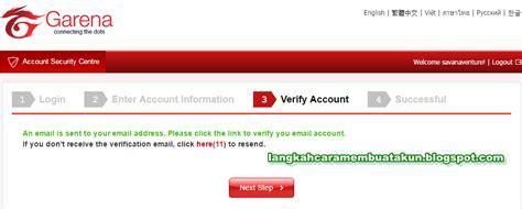 buat akun pb garean buat akun pb garena indonesia cara verifikasi email pb