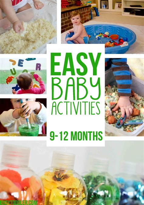 new year 2016 activities for babies 20 easy baby activities busy toddler