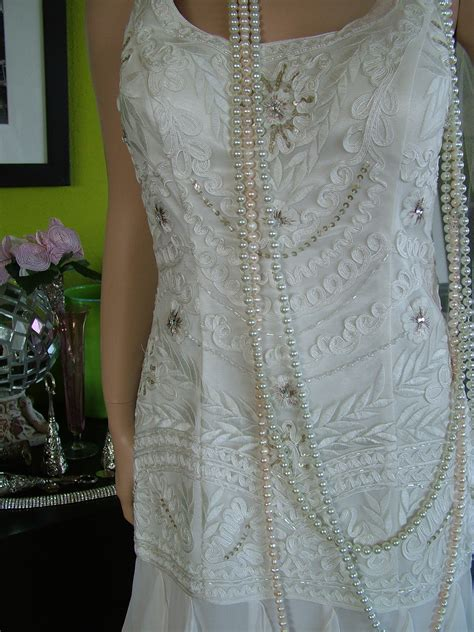 1920s flapper wedding dresses 1920s flapper downton abbey boardwalk empire wedding dress