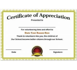 65 certificate appreciation design template international 22 certificate of appreciation templates free sample yelopaper Gallery