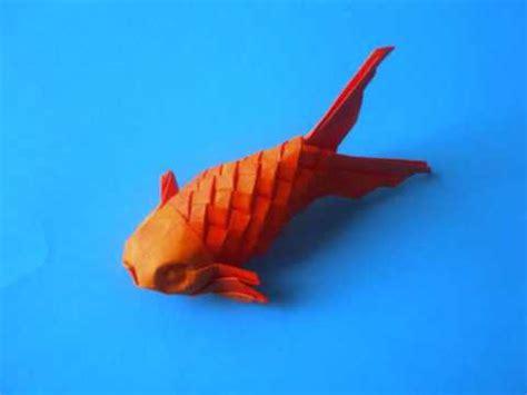 youtube pattern fish origami scaled fish youtube