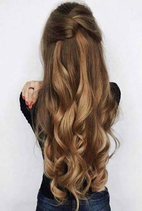hairstyles for long hair at home hairstyles at home for long hair