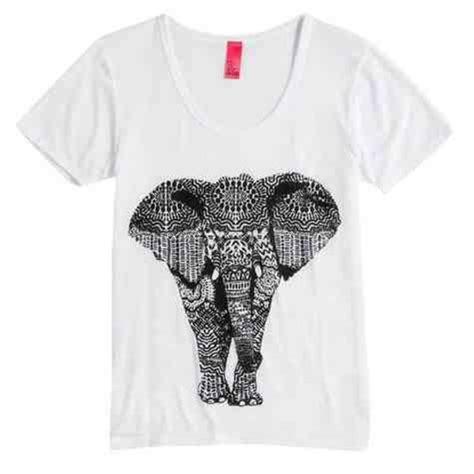hipster pattern shirt shirt elephant tribal pattern aztec cute t shirt