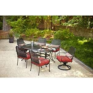 hton bay fall river 7 patio dining