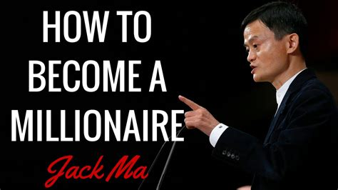 alibaba ownership jack ma how to become a millionaire jack ma interview