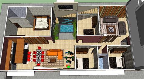 layout kantor modern renovasi bangunan gudang menjadi hunian minimalis nyaman