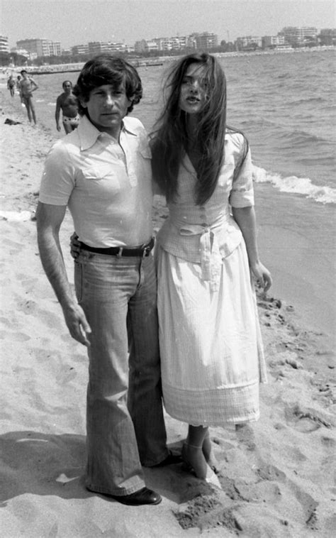 Director Roman Polanski and actress Nastassja Kinski, who