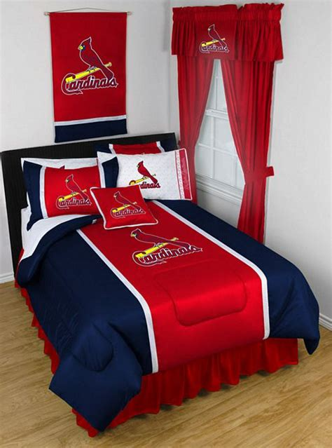 st louis cardinals bedroom decor st louis cardinals mlb by sports coverage