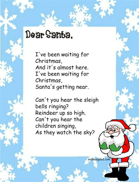 best christmas poems for kids poems