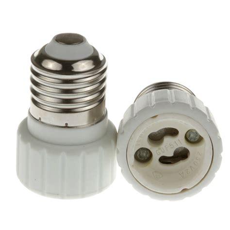 convert lantern to l new e27 to gu10 socket base led halogen light