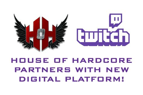 house of hardcore house of hardcore partner with twitch cageside seats