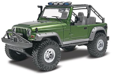 1 25 revell 03 jeep wrangler rubicon truck kit news