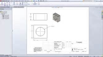 solidworks drawing template tutorial transition to solidworks from creo or proe drawing documents