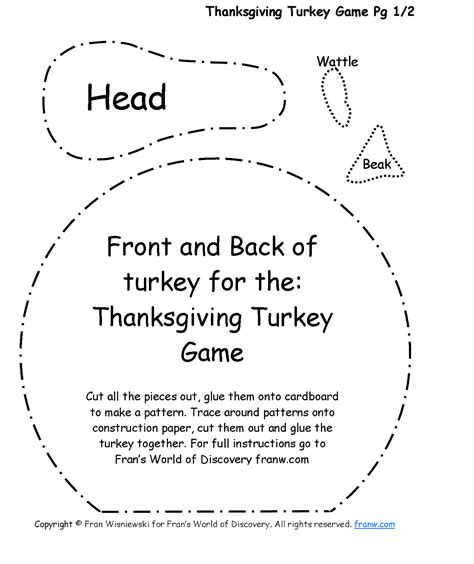 How To Make A Thanksgiving Turkey Out Of Construction Paper - funschooling recreational learning thanksgiving turkey