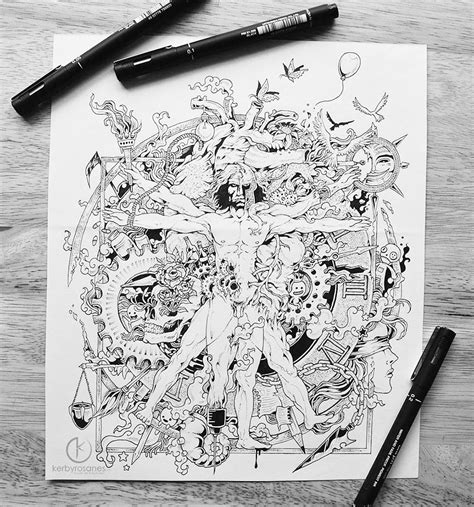 kerby rosanes sketchbook pen drawings by kerby rosanes gt freeyork