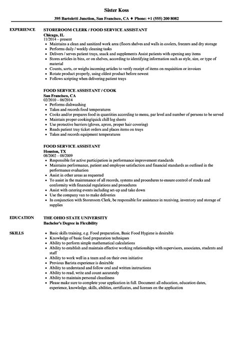example good restaurant customer service resume template example