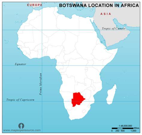africa map botswana botswana country profile free maps of botswana open