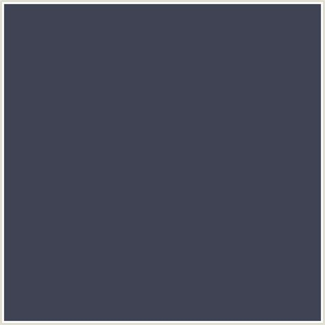 blue gray color 3f4354 hex color rgb 63 67 84 blue bright gray