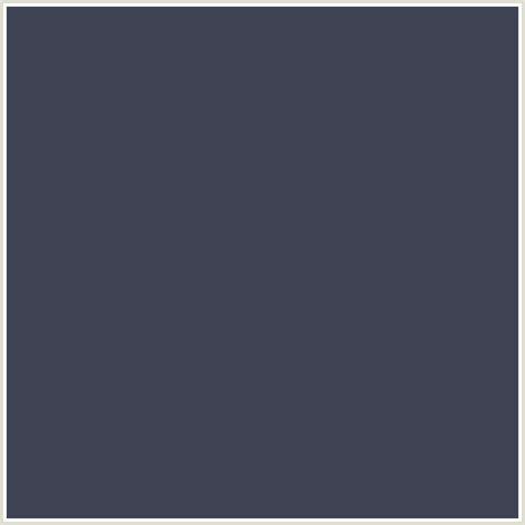 #3F4354 Hex Color   RGB: 63, 67, 84   BLUE, BRIGHT GRAY