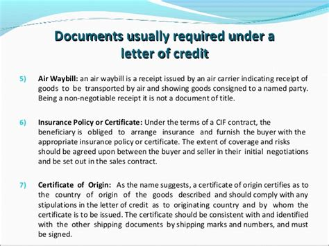 certification in letter of credit beneficiary certificate letter of credit forum