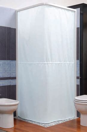 magnetic shower curtain magnetic shower curtain and rail system
