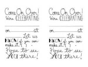 printable invitations fill in invitations by cornerchair