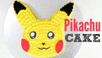 go pikachu cake