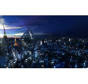 Futuristic Tokyo Bay  3D Scenery/Landscapes WallpaperCoolvibe