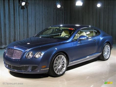 bentley coupe blue blue bentley continental gt 2010 blue crystal bentley