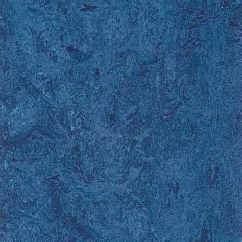 Blue Floor by Forbo Dual Marmoleum Tiles Colour T3030 Blue Linoleum Lino