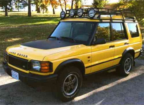 yellow land rover discovery land rover discovery 2002 kalahari edition borrego yellow