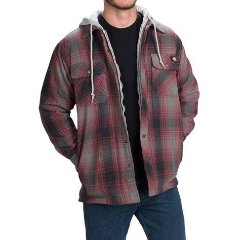 Quilted Shirt Jacket by Dickies Quilted Western Shirt Jacket For And Big
