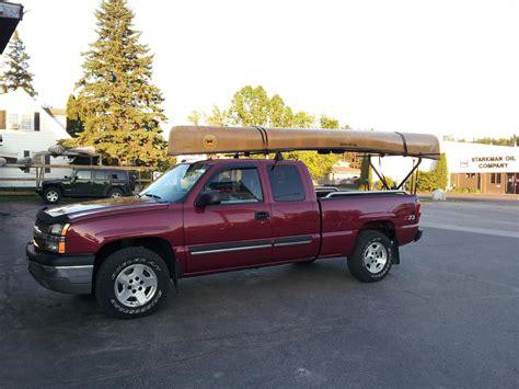 Canoe Racks For Trucks by Bwca Canoe Rack Help Truck Boundary Waters Gear Forum