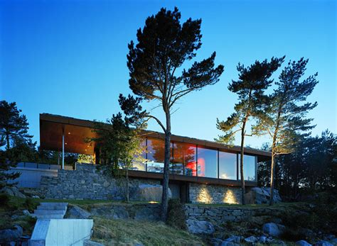 houses in norway stunning modern home overlooking the fjord in norway