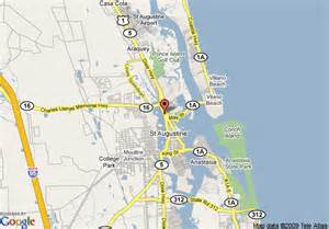 map of travelodge suites st augustine fl augustine