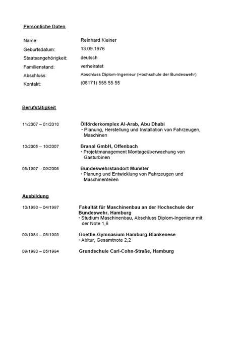Lebenslauf Vorlage Bundeswehr Bewerbung Bundeswehr Absolvent Berufserfahrung Muster Zum