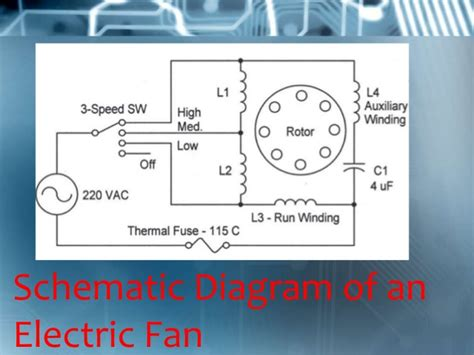 desk fan motor wiring diagram fan motor wiring