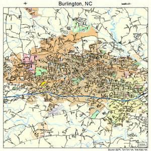 map of burlington carolina burlington carolina map 3709060
