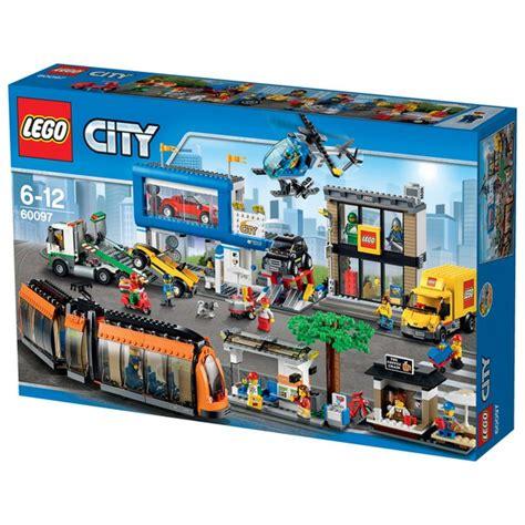 Lego 60097 City Square lego city city square 60097 toys zavvi