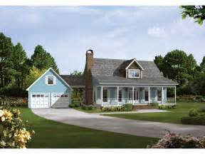 House Plans With Detached Garage And Breezeway by Auburn Park Country Farmhouse Plan 040d 0024 House Plans