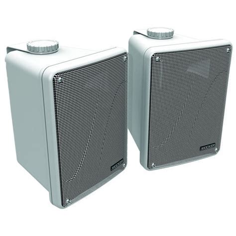 kicker range indoor outdoor speakers white 11kb6000w